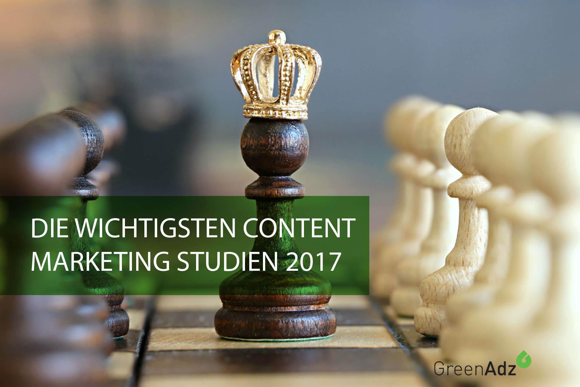 Top Content Marketing Studien