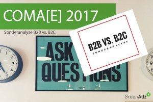 Titelseite der Content Marketing Entscheider Studie COMAE 2017
