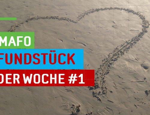 """Neue Rubrik: """"Mafo-Fundstück der Woche"""""""