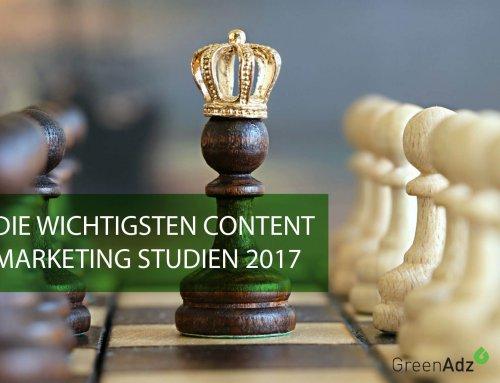 Die wichtigsten Content Marketing Studien 2017