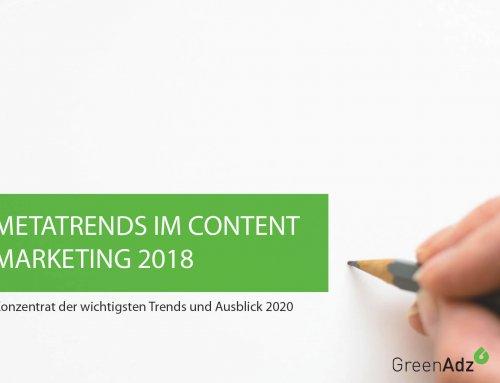 Content Marketing Trends 2018 und Ausblick 2020