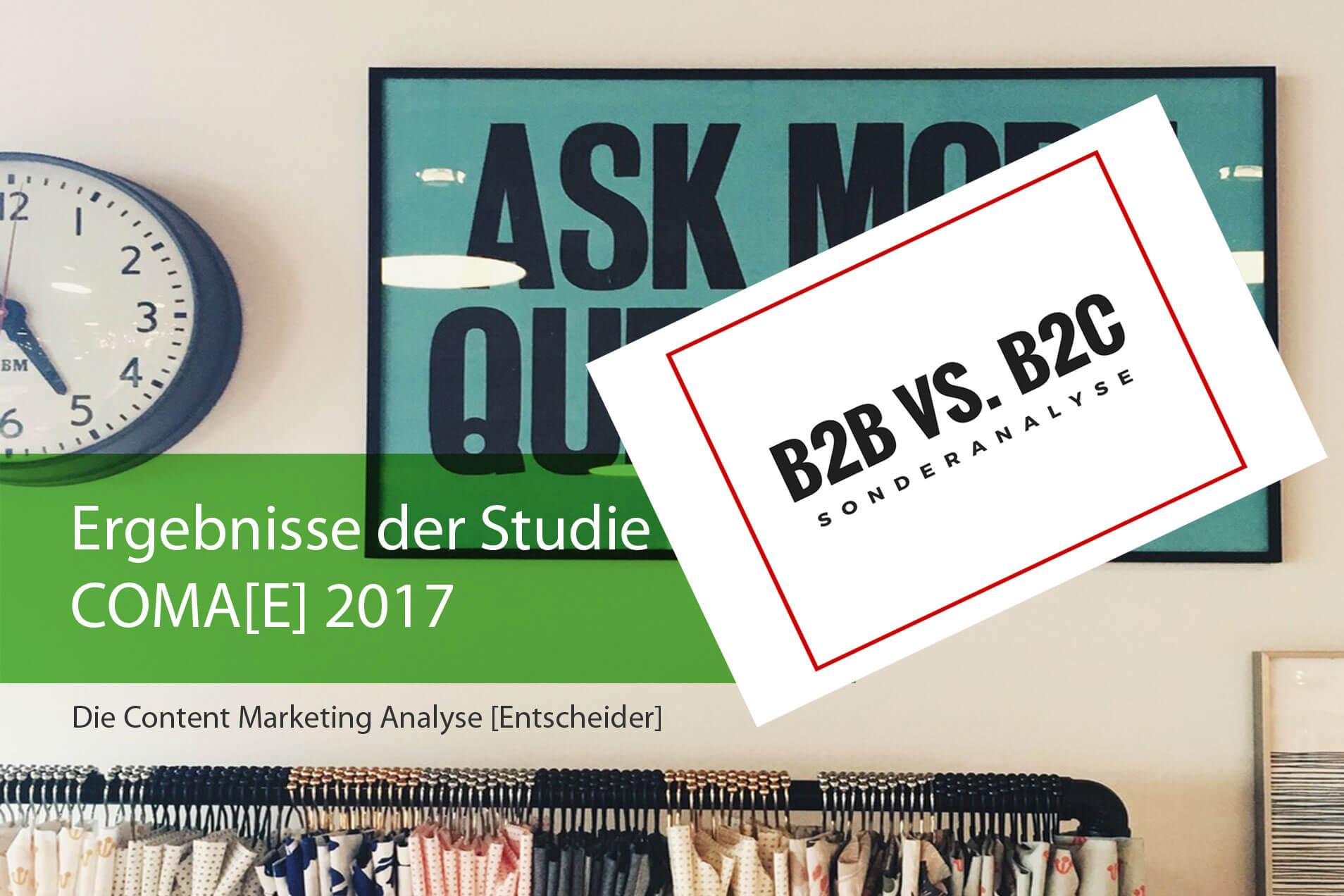 Content Marketing in B2B vs. B2C